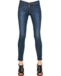 Frame Denim Skinny Stretch Cotton Denim Jeans - Lyst