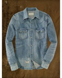 Denim & Supply Ralph Lauren Denim Coulman Western Shirt - Lyst
