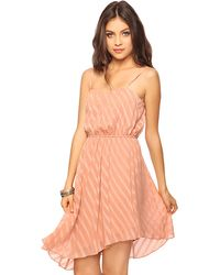 Forever 21 Asymmetrical Hem Dress - Lyst