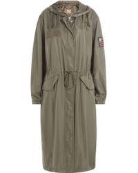 True Religion - Military-inspired Raincoat - Green - Lyst