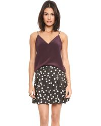 Rory Beca | Crusader Camisole - Bordeaux | Lyst