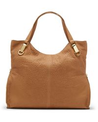 Vince Camuto Riley Leather Tote Bag - Lyst
