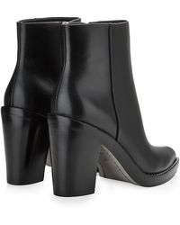 Alexander Wang Kelli Leather Boot - Lyst