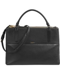 COACH - The Borough Black Shoulder Bag - Lyst
