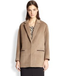 Rag & Bone Sigrid Fleece Jacket - Lyst