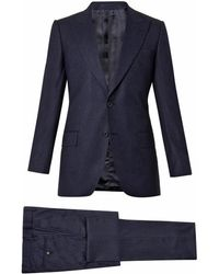 Gieves & Hawkes Twobutton Wool Suit - Lyst