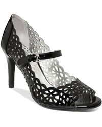 Rampage Criss-cross Dress Sandals - Lyst