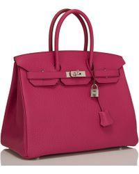 Hermès | Tosca Fjord Birkin 35cm | Lyst