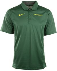 Nike Mens Shortsleeve Oregon Ducks Gametime Polo - Lyst