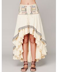 Free People Rises in The East Skirt - Lyst