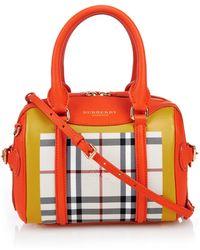 Burberry Prorsum - Mini Bee Colour-Block Leather Cross-Body Bag - Lyst