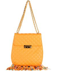 Boutique Moschino - Medium Leather Bag - Lyst