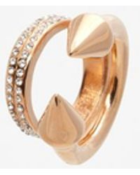 Vita Fede - Titan Double Crystal Band Ring - Lyst