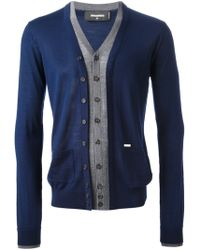 DSquared2 Cardigan - Lyst