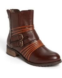 Everybody | 'pastore' Double Buckle Bootie | Lyst