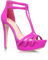 Jessica Simpson - Salvati High Heel Sandals - Lyst
