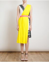 Roksanda Ilincic Belted Sleeveless Sash Dress - Lyst