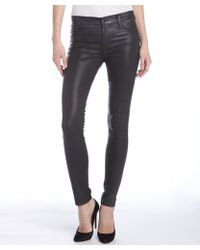 James Jeans Chrome Coated Stretch Twiggy Skinny Jeans - Lyst
