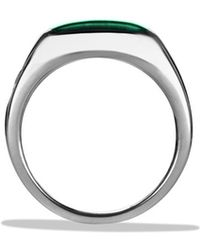 David Yurman Exotic Stone Ring with Malachite - Lyst