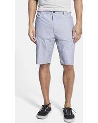Howe Men'S 'Flipside' Mini Stripe Shorts - Lyst