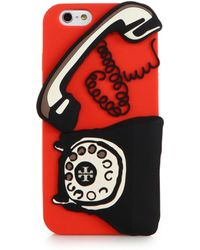 Tory Burch | Telephone Silicone Iphone 6 Case | Lyst