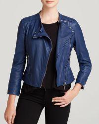 Karen Millen Biker Jacket - Bloomingdale'S Exclusive - Lyst