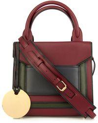 Pierre Hardy Bi-colour Leather Cross-body Bag - Lyst