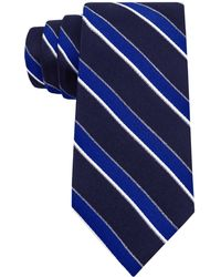 Tommy Hilfiger Ribb Stripe Slim Tie - Lyst