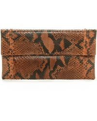 Primary Prime Clutch - Brown - Lyst