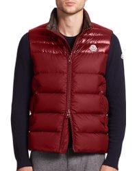 moncler dupres quilted puffer vest