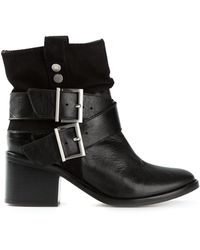 Zadig & Voltaire Buckle Boots - Lyst