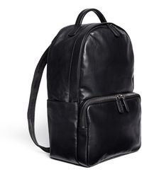 b48d1902a1 Giorgio Armani - Leather Backpack - Lyst