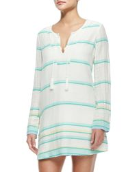 Soft Joie - Dacy Long-sleeve Coverup Tunic Dress - Lyst