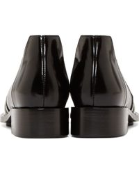 Paco Rabanne - Bi-Colored Leather Moccasins - Lyst