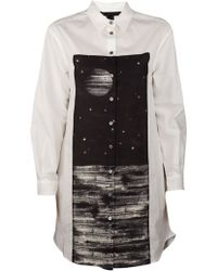 Marc By Marc Jacobs Lyra Poplin Shirt Tunic - Lyst