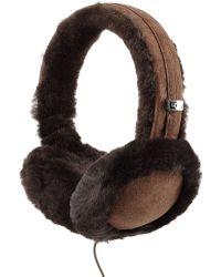 Ugg Classic Wired Shearling Earmuff Headphones - Lyst