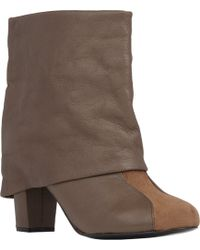 See By Chloé Cuffed Ankle Boots - Lyst