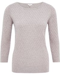 Cc Textured Panel Jumper - Lyst