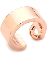 Maison Martin Margiela Id Ring Rose Gold - Lyst