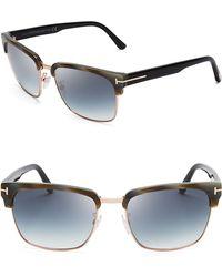 Tom Ford River Wayfarer Sunglasses - Lyst