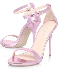 Carvela Glacier High Heel Sandals - Lyst