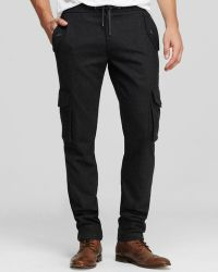 Michael Kors Slim Fit Cargo Track Pants - Lyst