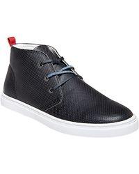Steve Madden Perforated Hi-Top Sneakers - Lyst
