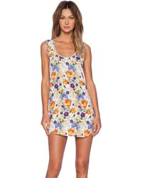 MINKPINK Wild Keepsake Tank Dress - Lyst