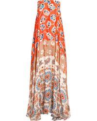 Paul & Joe Infini Printed Silk-Chiffon Maxi Dress - Lyst