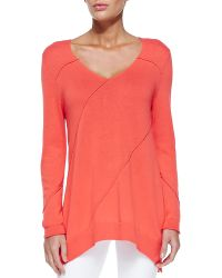 Nic+zoe Swing Seamed Easy Top - Lyst
