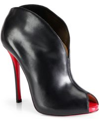Christian Louboutin Chesterfille Leather Ankle Boots - Lyst