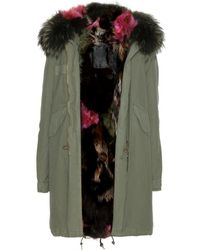 Mr & Mrs Furs Garance Fur Lined Parka - Lyst