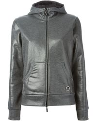 Moncler Gray Highshine Sweatshirt - Lyst