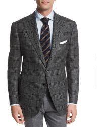 Cesare Attolini - Plaid Cashmere Two-button Jacket - Lyst